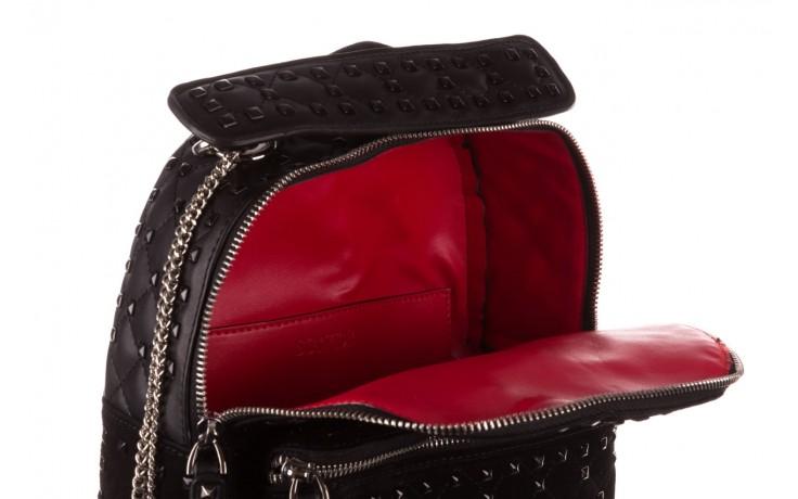Plecak sca'viola t-57 black, czarny, skóra naturalna  - torebki - akcesoria - kobieta 7