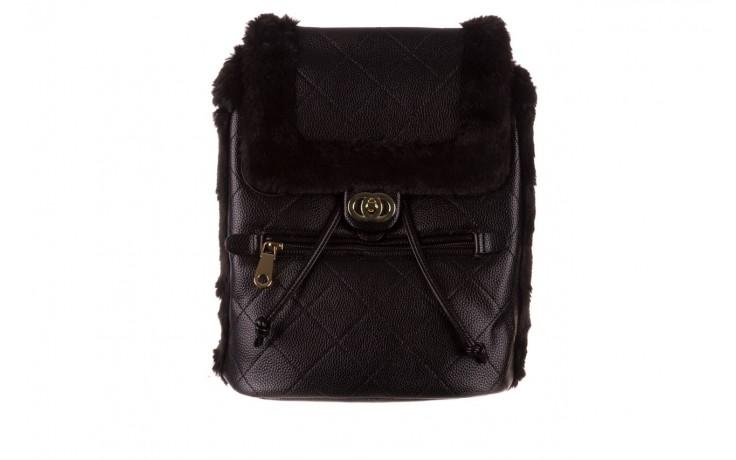 Plecak sca'viola t-58 black, czarny, skóra naturalna  - torebki - akcesoria - kobieta