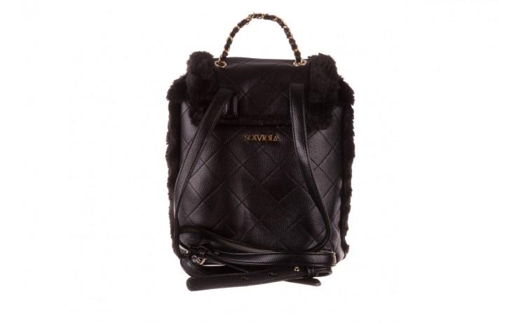 Plecak sca'viola t-58 black, czarny, skóra naturalna  - torebki - akcesoria - kobieta 3