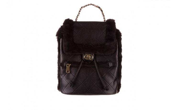 Plecak sca'viola t-58 black, czarny, skóra naturalna  - torebki - akcesoria - kobieta 1
