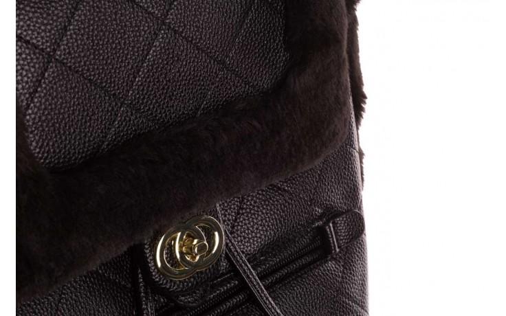 Plecak sca'viola t-58 black, czarny, skóra naturalna  - torebki - akcesoria - kobieta 6