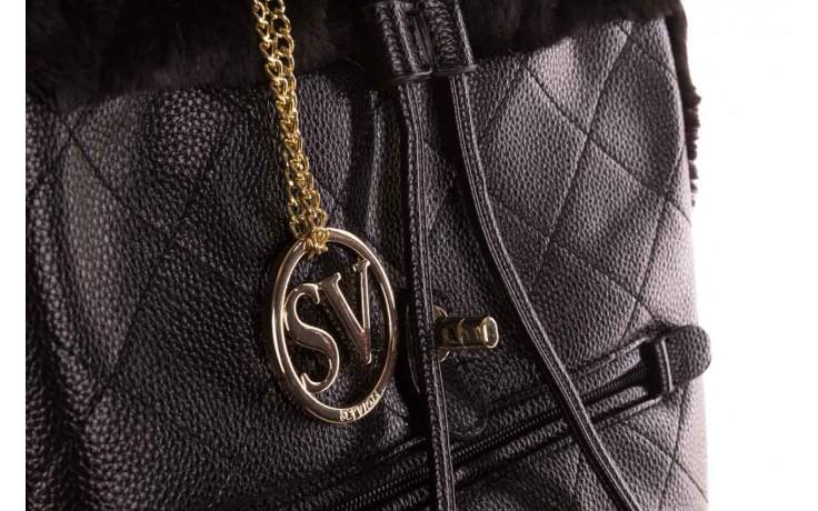 Plecak sca'viola t-58 black, czarny, skóra naturalna  - torebki - akcesoria - kobieta 7