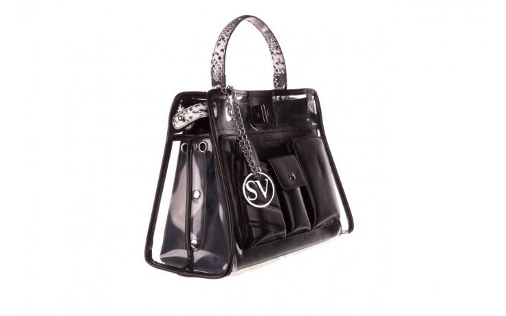 Torebka sca'viola t-59 black, czarny, skóra naturalna  - torebki - akcesoria - kobieta 1