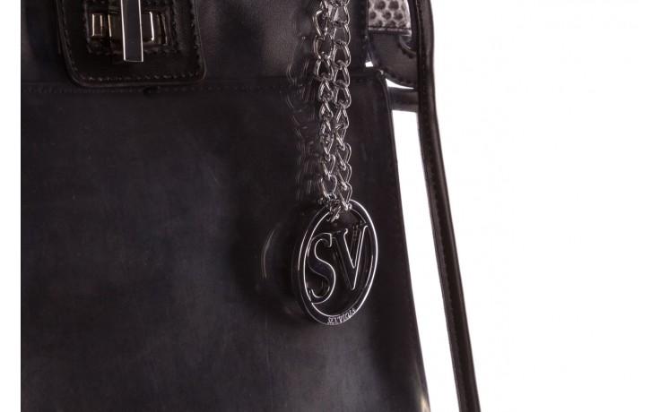 Torebka sca'viola t-59 black, czarny, skóra naturalna  - torebki - akcesoria - kobieta 4