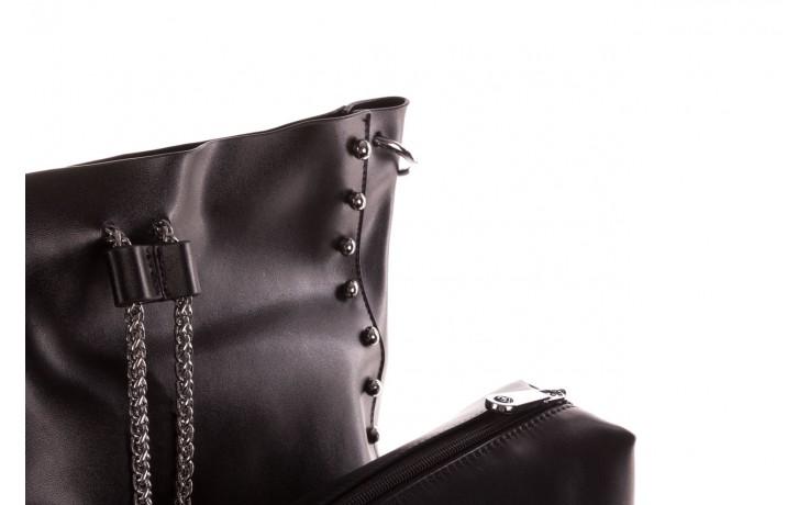 Torebka sca'viola t-56 black, czarny, skóra naturalna  - torebki - akcesoria - kobieta 7