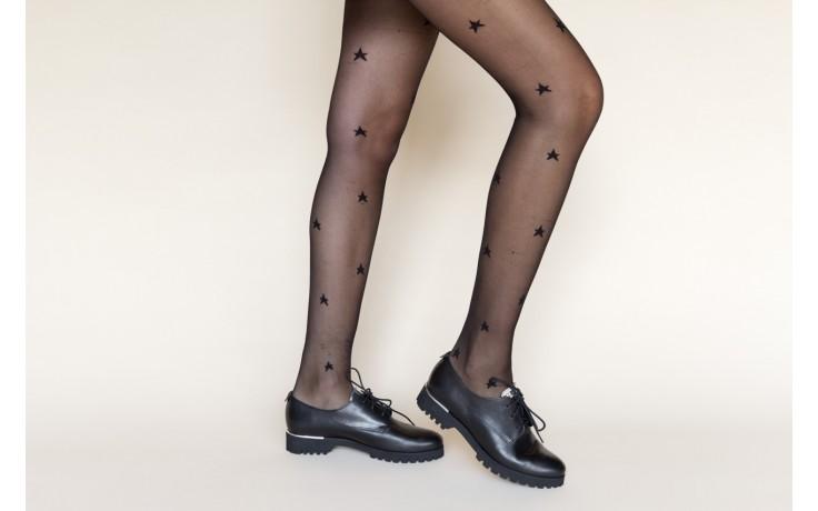 Półbuty bayla-157 b021-076-p czarny 157018, skóra naturalna - skórzane - półbuty - buty damskie - kobieta 2