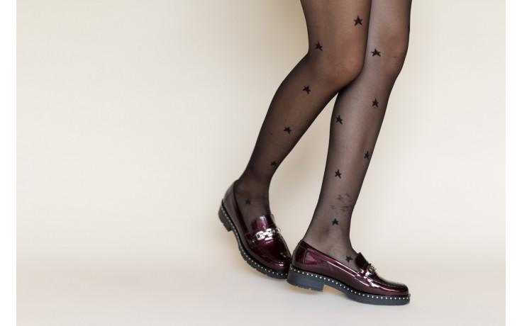 Półbuty pitillos 5811 burdeos, bordowy, skóra naturalna lakierowana - półbuty - buty damskie - kobieta 2