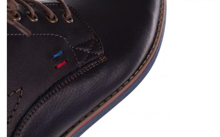 Półbuty bayla-081 771 ii granatowe 19, skóra naturalna  - półbuty - buty męskie - mężczyzna 7