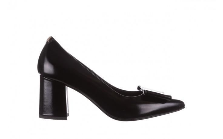 Czółenka bayla-056 9404-1278 czarny, skóra naturalna  - czółenka - buty damskie - kobieta