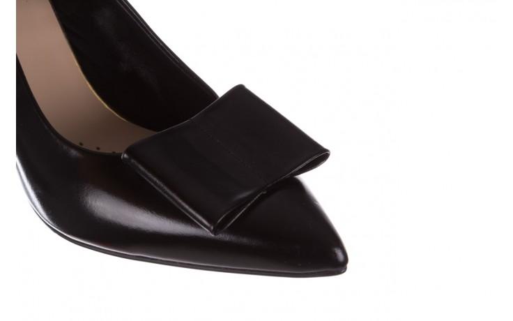 Czółenka bayla-056 9404-1278 czarny, skóra naturalna  - czółenka - buty damskie - kobieta 6