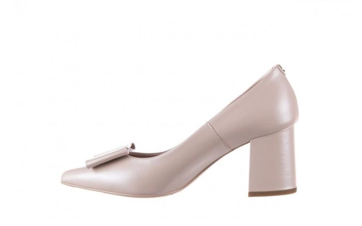 Czółenka bayla-056 9404-1459 beż perła, skóra naturalna  - skórzane - czółenka - buty damskie - kobieta 3
