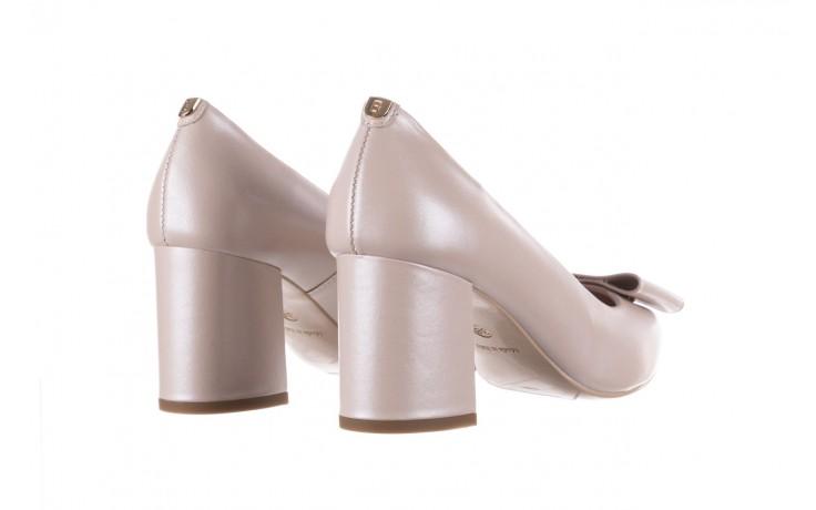 Czółenka bayla-056 9404-1459 beż perła, skóra naturalna  - skórzane - czółenka - buty damskie - kobieta 4