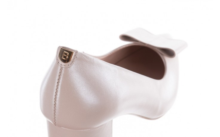 Czółenka bayla-056 9404-1459 beż perła, skóra naturalna  - skórzane - czółenka - buty damskie - kobieta 6