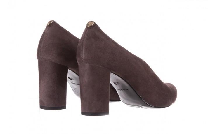 Czółenka bayla-056 9147-1462 szary, skóra naturalna  - zamszowe - czółenka - buty damskie - kobieta 4