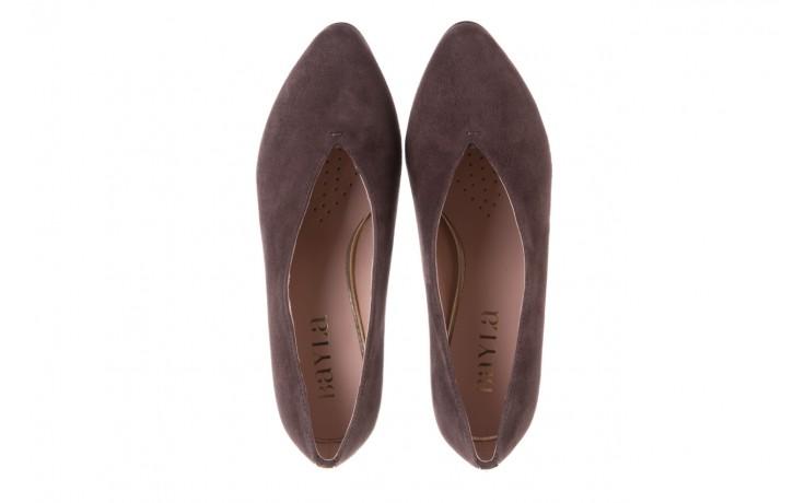 Czółenka bayla-056 9147-1462 szary, skóra naturalna  - czółenka - buty damskie - kobieta 5