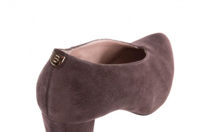 Czółenka bayla-056 9147-1462 szary, skóra naturalna  - czółenka - buty damskie - kobieta 6