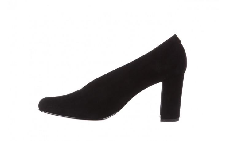 Czółenka bayla-056 9147-21 czarny, skóra naturalna  - na słupku - czółenka - buty damskie - kobieta 3