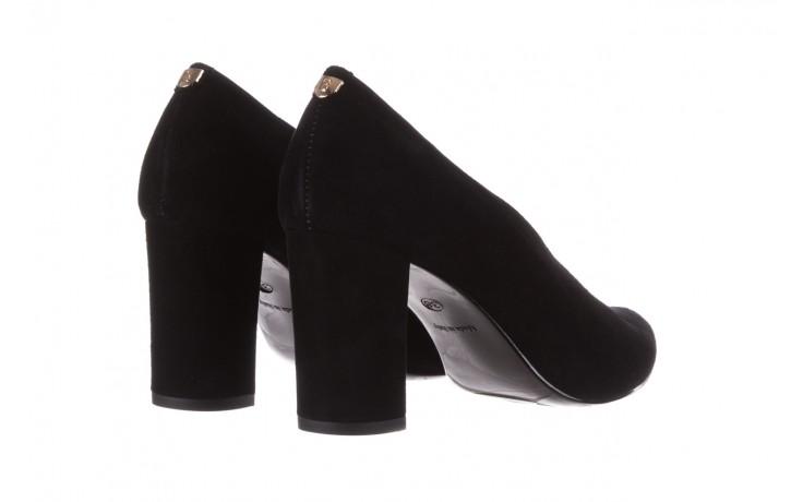 Czółenka bayla-056 9147-21 czarny, skóra naturalna  - na słupku - czółenka - buty damskie - kobieta 4