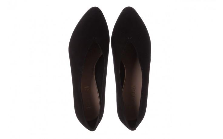 Czółenka bayla-056 9147-21 czarny, skóra naturalna  - na słupku - czółenka - buty damskie - kobieta 5