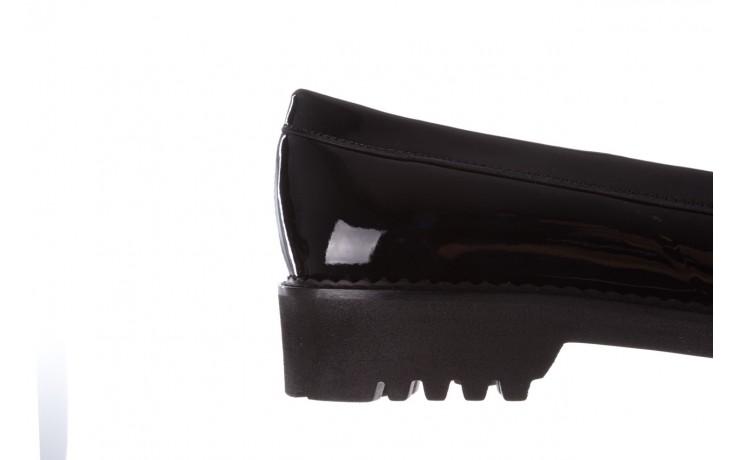 Półbuty bayla-157 b019-090-p czarny 157024, skóra naturalna lakierowana  - półbuty - buty damskie - kobieta 8