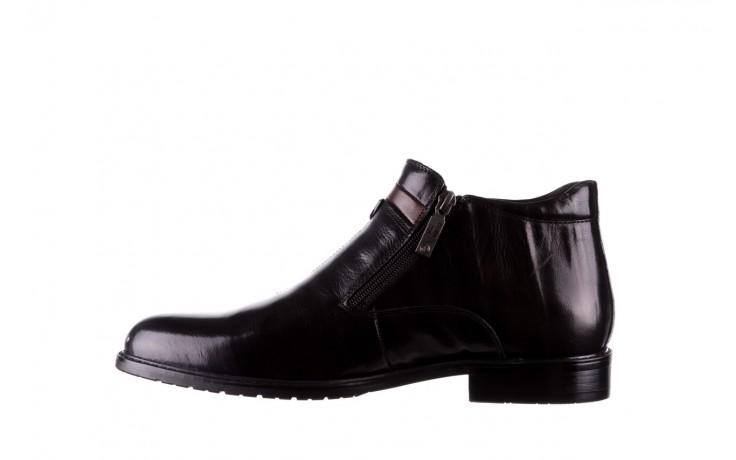 Trzewiki john doubare ygfr-z106-305-1 black, czarny, skóra naturalna  - buty męskie - mężczyzna 2