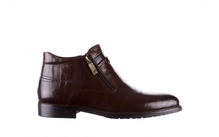 Trzewiki john doubare ygfr-z106-306-2 brown, brązowy, skóra naturalna  - sale - buty męskie - mężczyzna