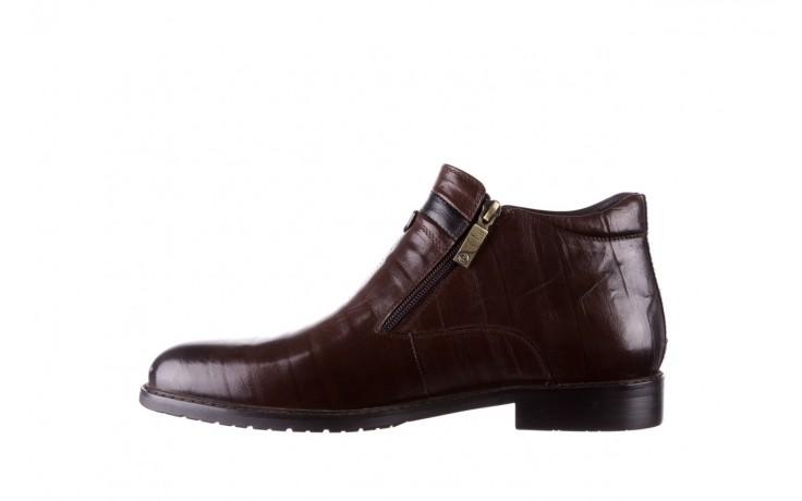 Trzewiki john doubare ygfr-z106-306-2 brown, brązowy, skóra naturalna  - sale - buty męskie - mężczyzna 2