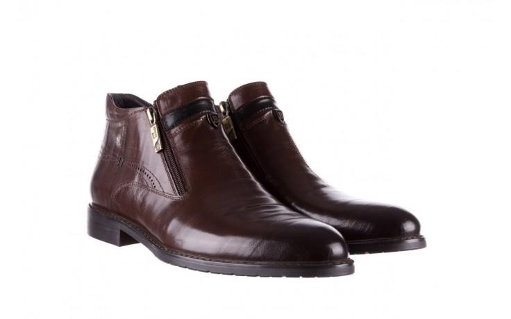 Trzewiki john doubare ygfr-z106-306-2 brown, brązowy, skóra naturalna  - sale - buty męskie - mężczyzna 1