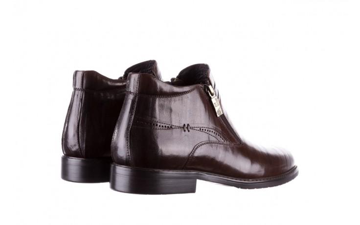 Trzewiki john doubare ygfr-z106-306-2 brown, brązowy, skóra naturalna  - sale - buty męskie - mężczyzna 3