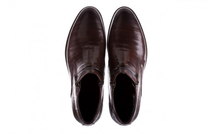 Trzewiki john doubare ygfr-z106-306-2 brown, brązowy, skóra naturalna  - sale - buty męskie - mężczyzna 4