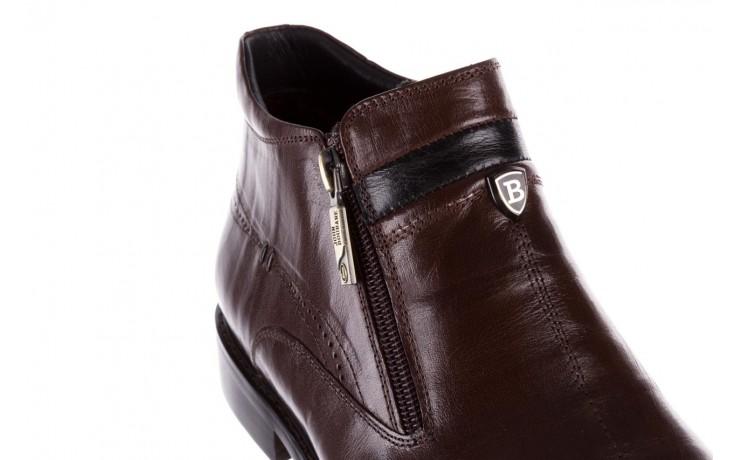 Trzewiki john doubare ygfr-z106-306-2 brown, brązowy, skóra naturalna  - sale - buty męskie - mężczyzna 5