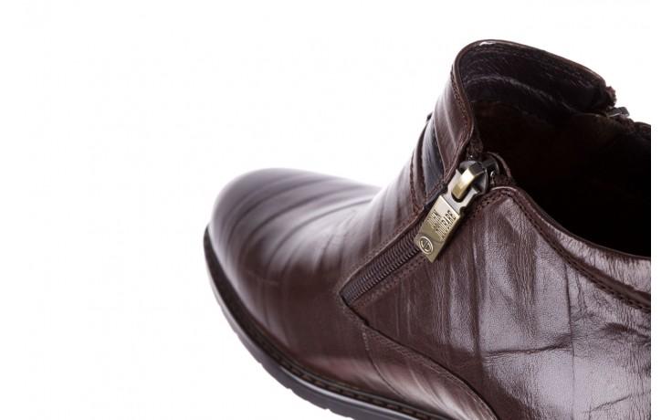 Trzewiki john doubare ygfr-z106-306-2 brown, brązowy, skóra naturalna  - sale - buty męskie - mężczyzna 6