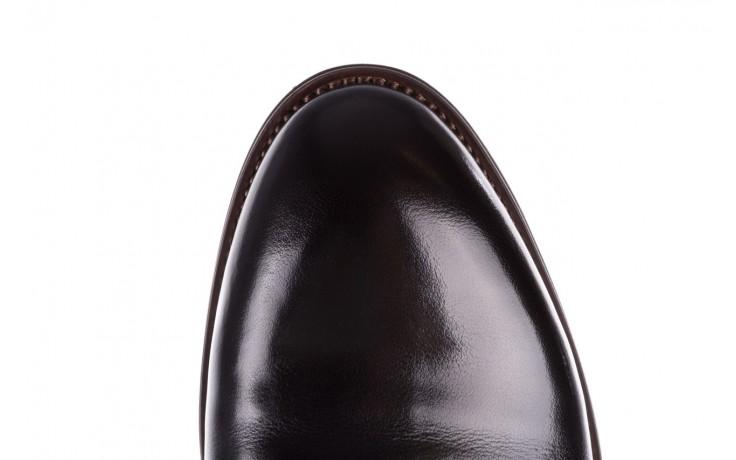 Trzewiki brooman l9002-26-a13-r black, czarny, skóra naturalna  - półbuty - buty męskie - mężczyzna 7