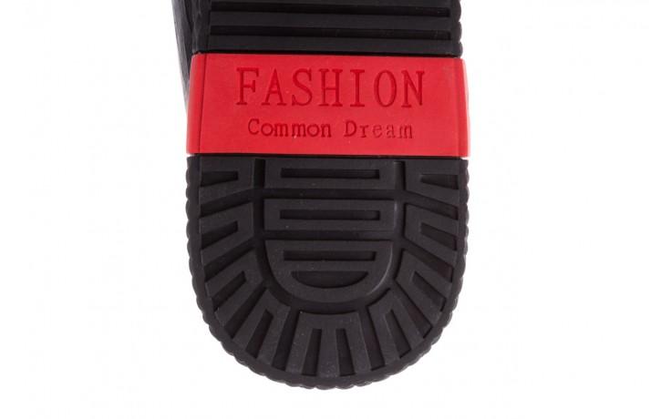 Trampki john doubare 10716-2 black, czarny, skóra naturalna  - niskie - trampki - buty męskie - mężczyzna 8