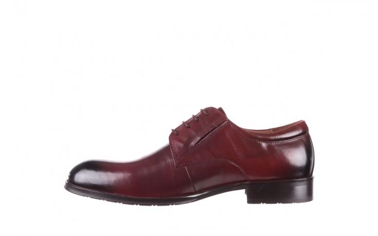 Półbuty brooman y008-27-a16 red, czerwony, skóra naturalna  - wizytowe - półbuty - buty męskie - mężczyzna 2