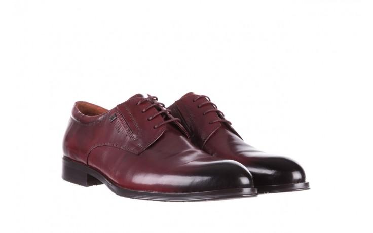 Półbuty brooman y008-27-a16 red, czerwony, skóra naturalna  - wizytowe - półbuty - buty męskie - mężczyzna 1