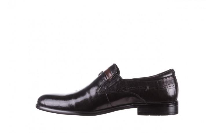 Półbuty john doubare ygc-z253-351-1 black, czarny, skóra naturalna  - buty męskie - mężczyzna 2