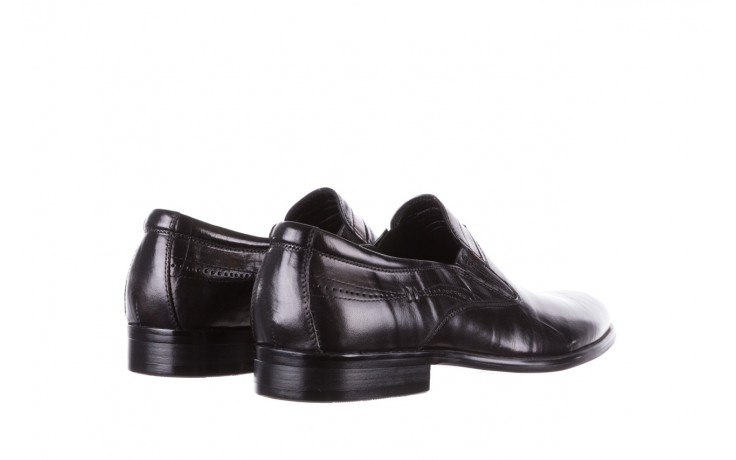 Półbuty john doubare ygc-z253-351-1 black, czarny, skóra naturalna  - buty męskie - mężczyzna 3