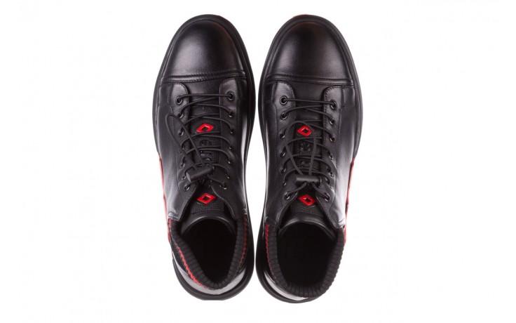 Trampki john doubare fy-9609 black, czarny, skóra naturalna  - sale - buty męskie - mężczyzna 4