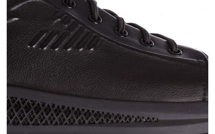 Trampki john doubare 10307 black, czarny, skóra naturalna  - niskie - trampki - buty męskie - mężczyzna 7