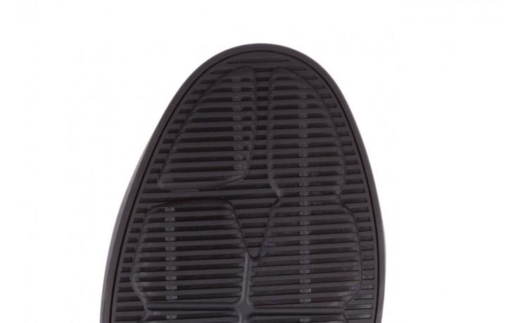 Trampki john doubare 10307 black, czarny, skóra naturalna  - niskie - trampki - buty męskie - mężczyzna 9