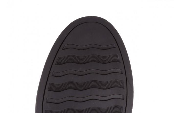 Trampki brooman a641-1a black, czarny, skóra naturalna  - buty męskie - mężczyzna 9