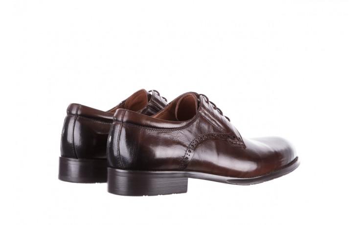Półbuty brooman y008-26-a15 brown, brązowy, skóra naturalna  - buty męskie - mężczyzna 3