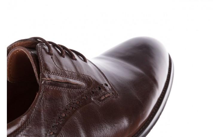 Półbuty brooman y008-26-a15 brown, brązowy, skóra naturalna  - buty męskie - mężczyzna 6