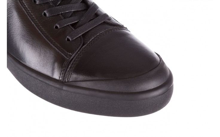 Trampki john doubare m5761-1 black 19, czarny, skóra naturalna  - sale - buty męskie - mężczyzna 6