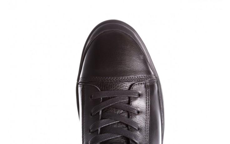 Trampki john doubare m5761-1 black 19, czarny, skóra naturalna  - sale - buty męskie - mężczyzna 8