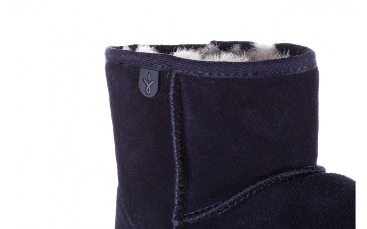 Śniegowce emu wallaby mini teens midnight 119105, granat, skóra naturalna - sale 5