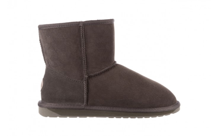 Śniegowce emu stinger mini dark olive, zielony, skóra naturalna  - śniegowce - śniegowce i kalosze - buty damskie - kobieta 1
