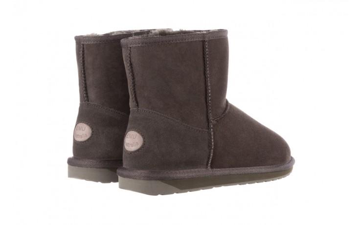 Śniegowce emu stinger mini dark olive, zielony, skóra naturalna  - śniegowce - śniegowce i kalosze - buty damskie - kobieta 4