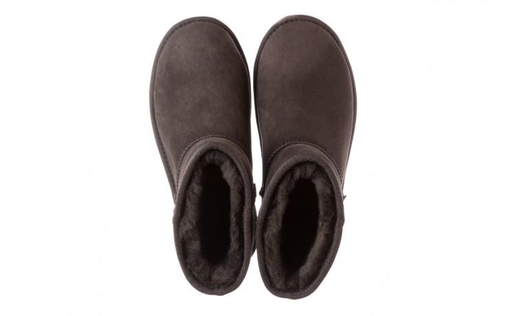 Śniegowce emu stinger mini dark olive, zielony, skóra naturalna  - śniegowce - śniegowce i kalosze - buty damskie - kobieta 5